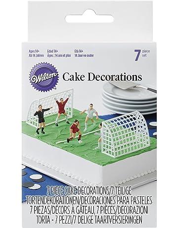 Wilton Set Decorativo Figuras de Fútbol, 5.08x8.380x14.73 cm, 7
