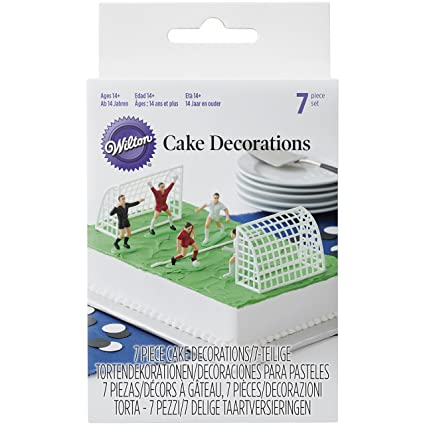 Image Unavailable Not Available For Color Wilton Soccer Football Cake Topper Decorations Birthday