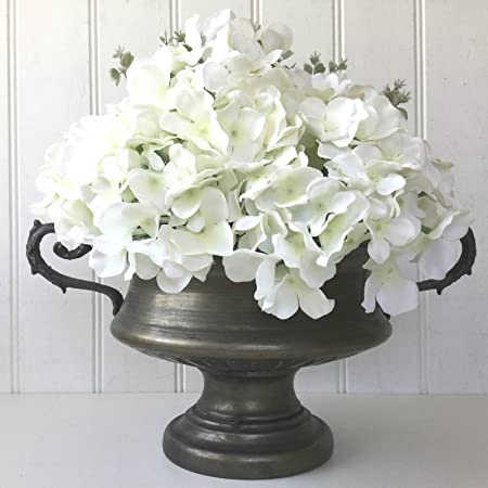 Antique french vintage style metal urn flower vase wedding table antique french vintage style metal urn flower vase wedding table centerpiece new junglespirit Choice Image