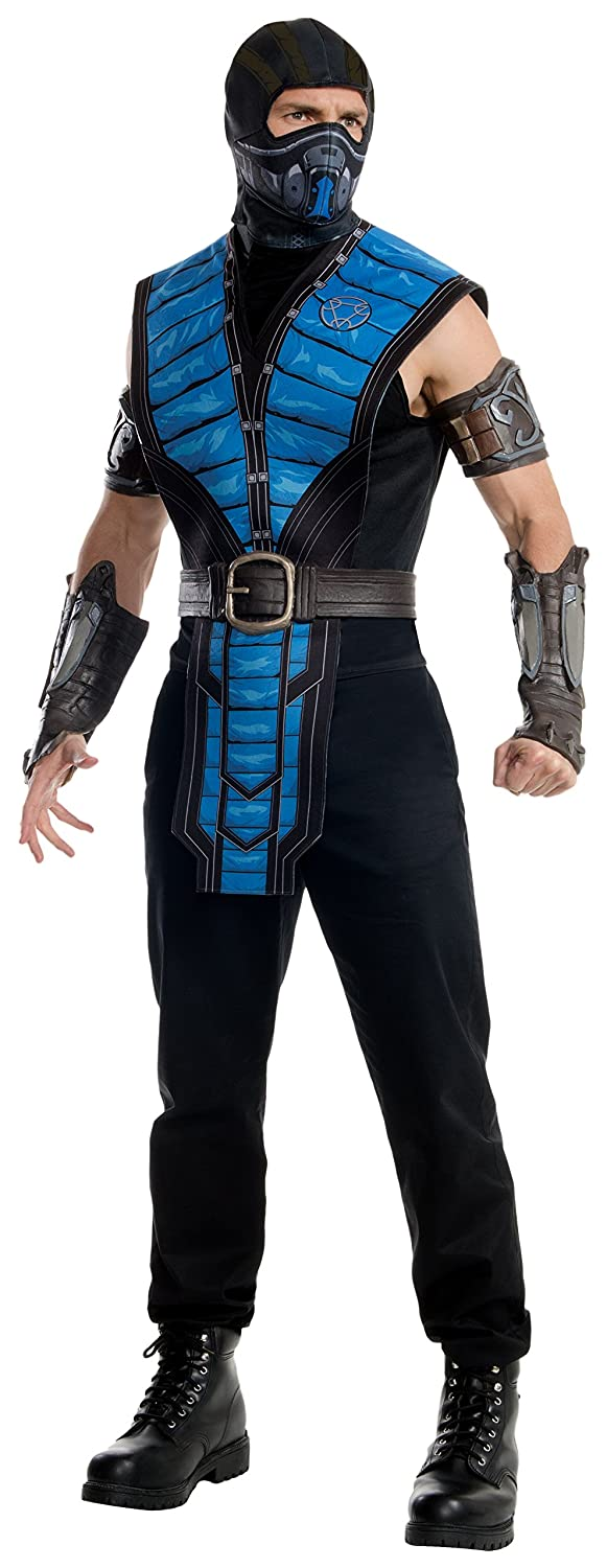 amazoncom rubies costume co mens mortal kombat x sub zero costume clothing