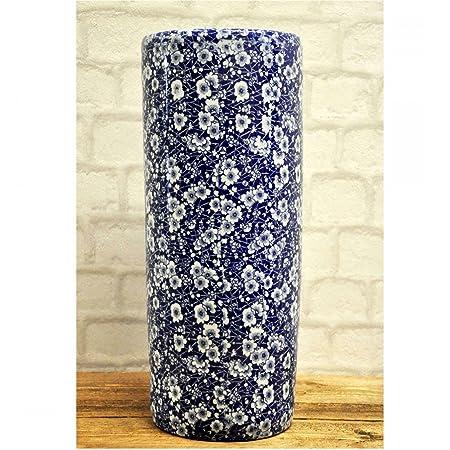 Blue White Traditional Style Ceramic Umbrella Stand Amazon