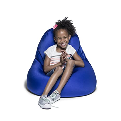 Remarkable Jaxx 16757161 Nimbus Spandex Bean Bag Chair Furniture For Kids Rooms Playrooms And More Small Royal Blue Customarchery Wood Chair Design Ideas Customarcherynet