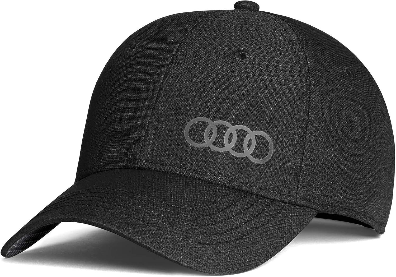 Audi 3131800100 Original Basecap Kappe Cap Premium Frequenz Schwarz Auto