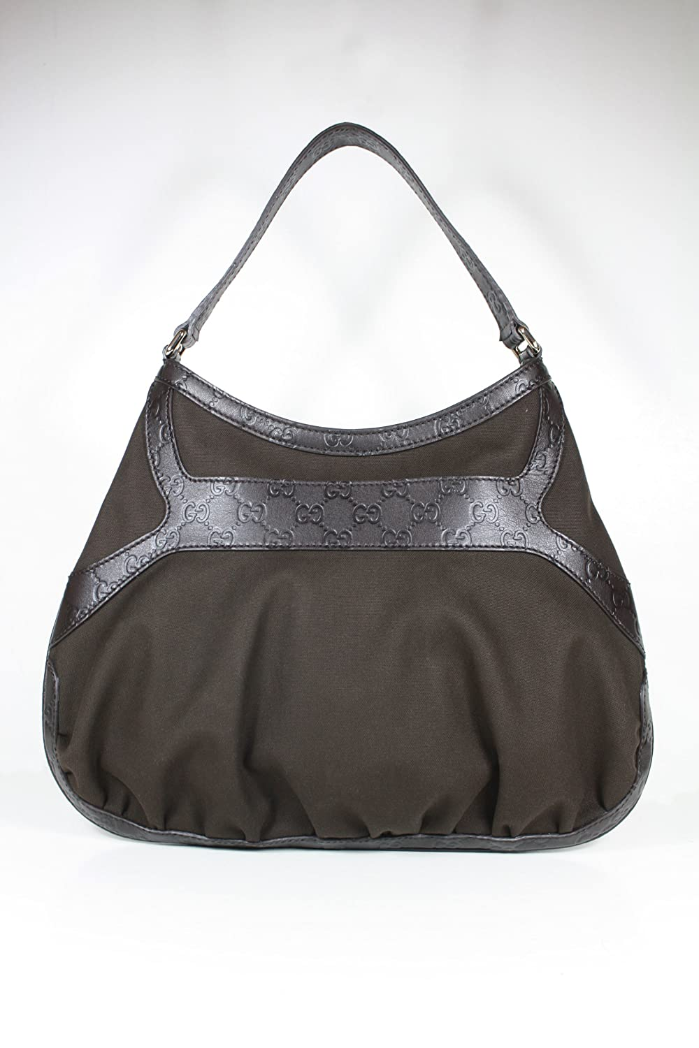1037bd4665ea07 Amazon.com: Gucci Handbags Brown Fabric and Leather 279158 Purse (CLEARANCE):  Shoes