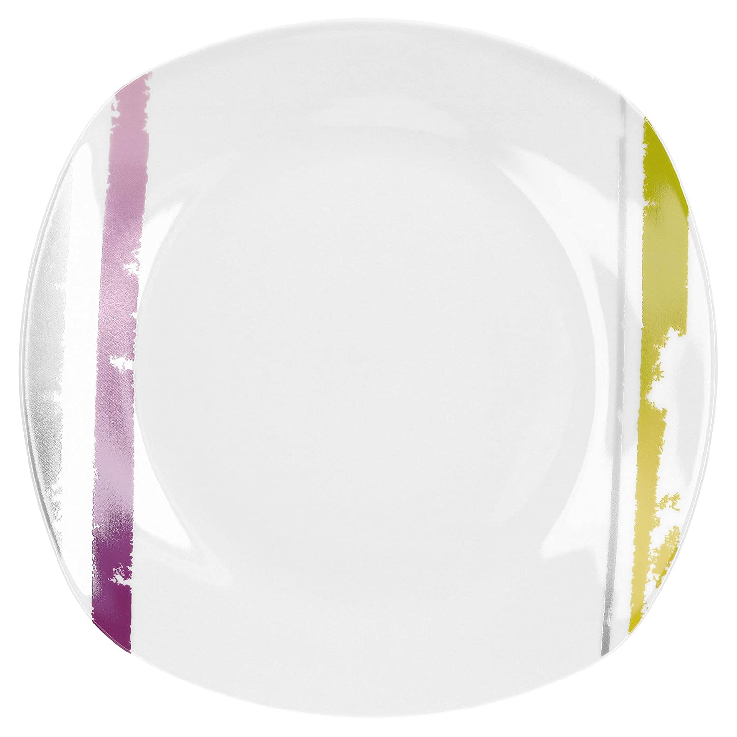 VAN WELL Lucia I - Plato Llano (25 x 25 cm, Porcelana): Amazon.es ...