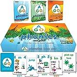 AGO フォニックス 3レベル ボックスセット 第2版 英語 カードゲーム