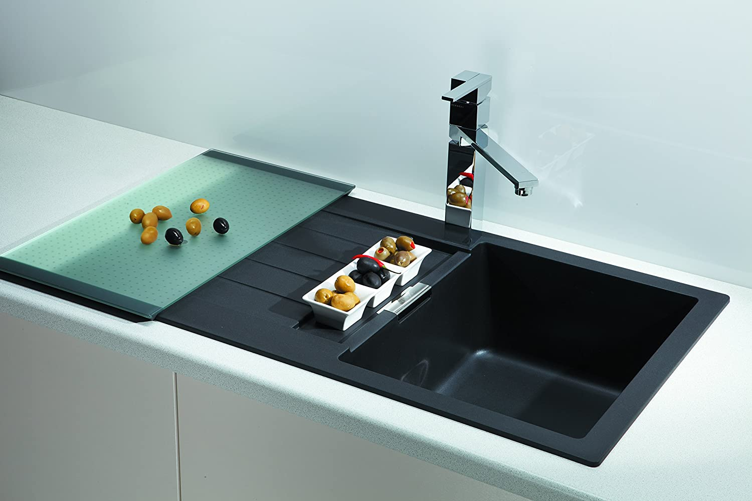 Schock Primus D-100 kitchen sink, Signus C-150: Amazon.co.uk: DIY ...