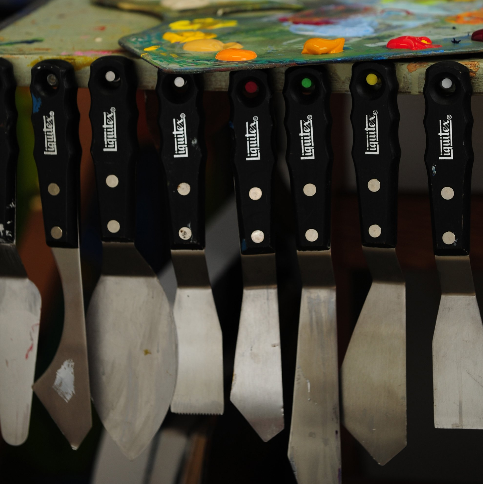 Liquitex Professional Freestyle Large Scale Knives 4-Piece Ring Set by Liquitex (Image #3)