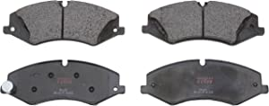TRW Automotive TPC1479 Premium Ceramic Front Disc Brake Pad Set, Black