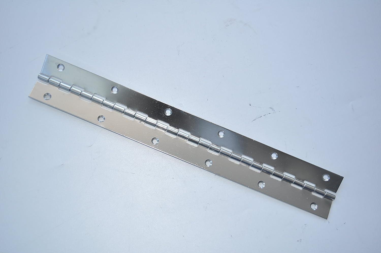 """304 Stainless Steel 12/"""" X 4/"""" Inch Boat Marine Piano Hinge Marine Hardware"""