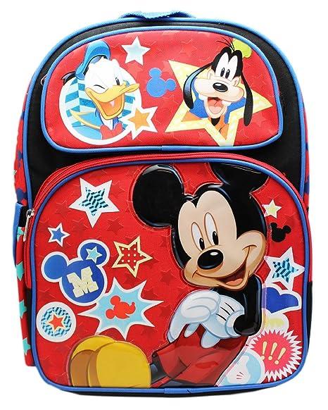 """Mickey Mouse Amigos 16 """"pulgadas mochila grande – Producto nuevo"""