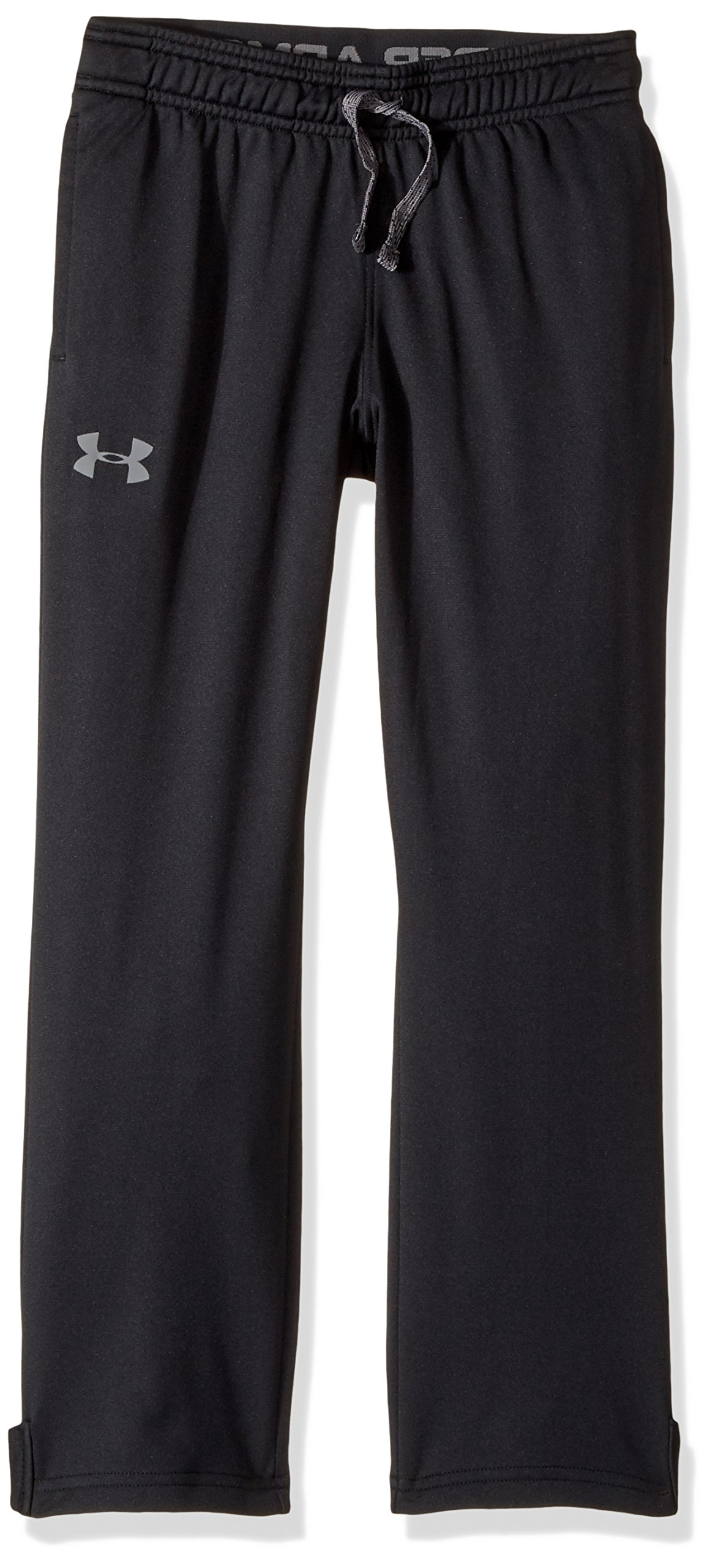 Under Armour Boys' Brawler Slim Pants,Black (001)/Graphite, Youth Medium