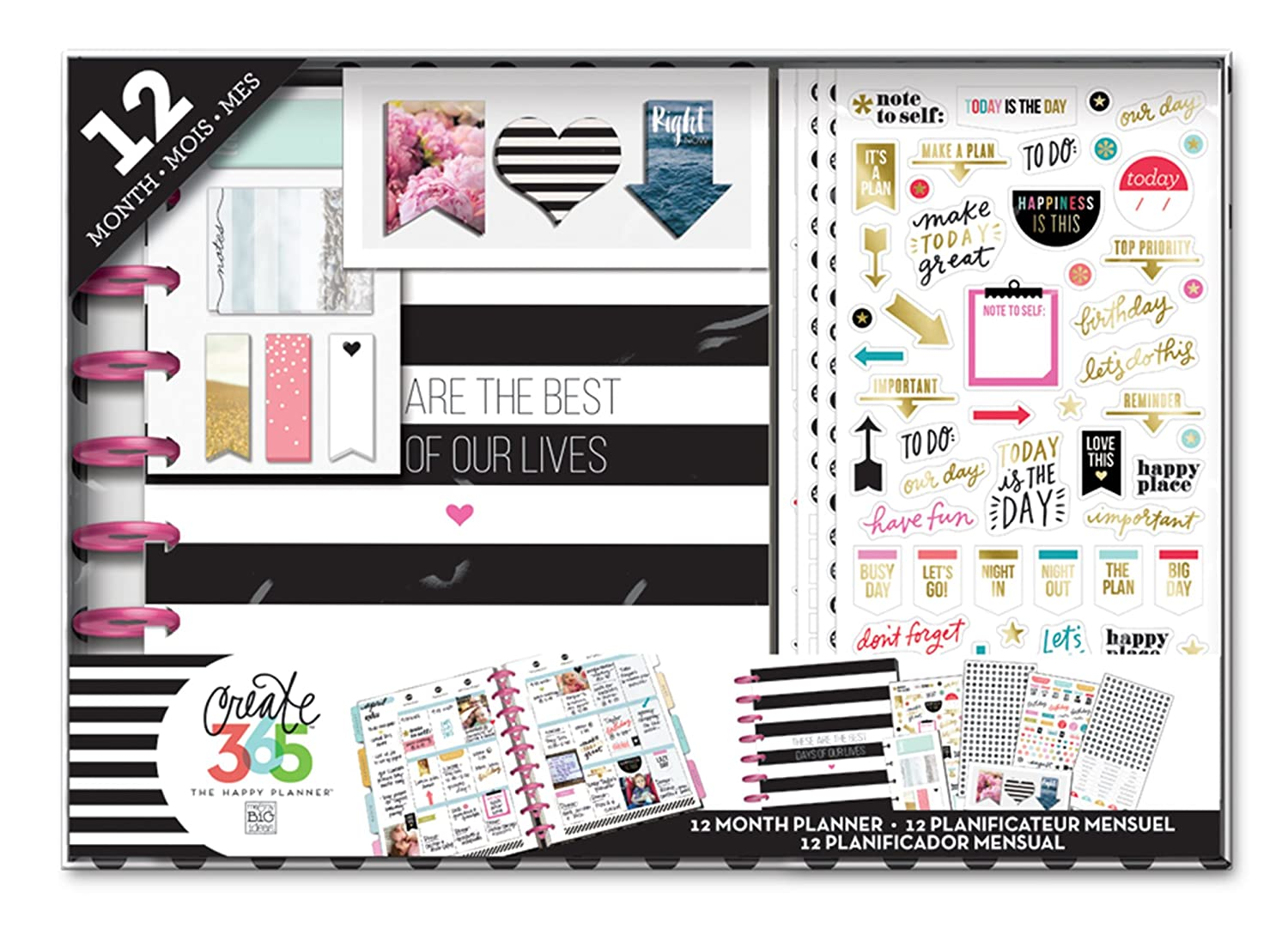Me and My BIG Ideas Happy Planner 12 Month Box Kit, Best Days BOX-98