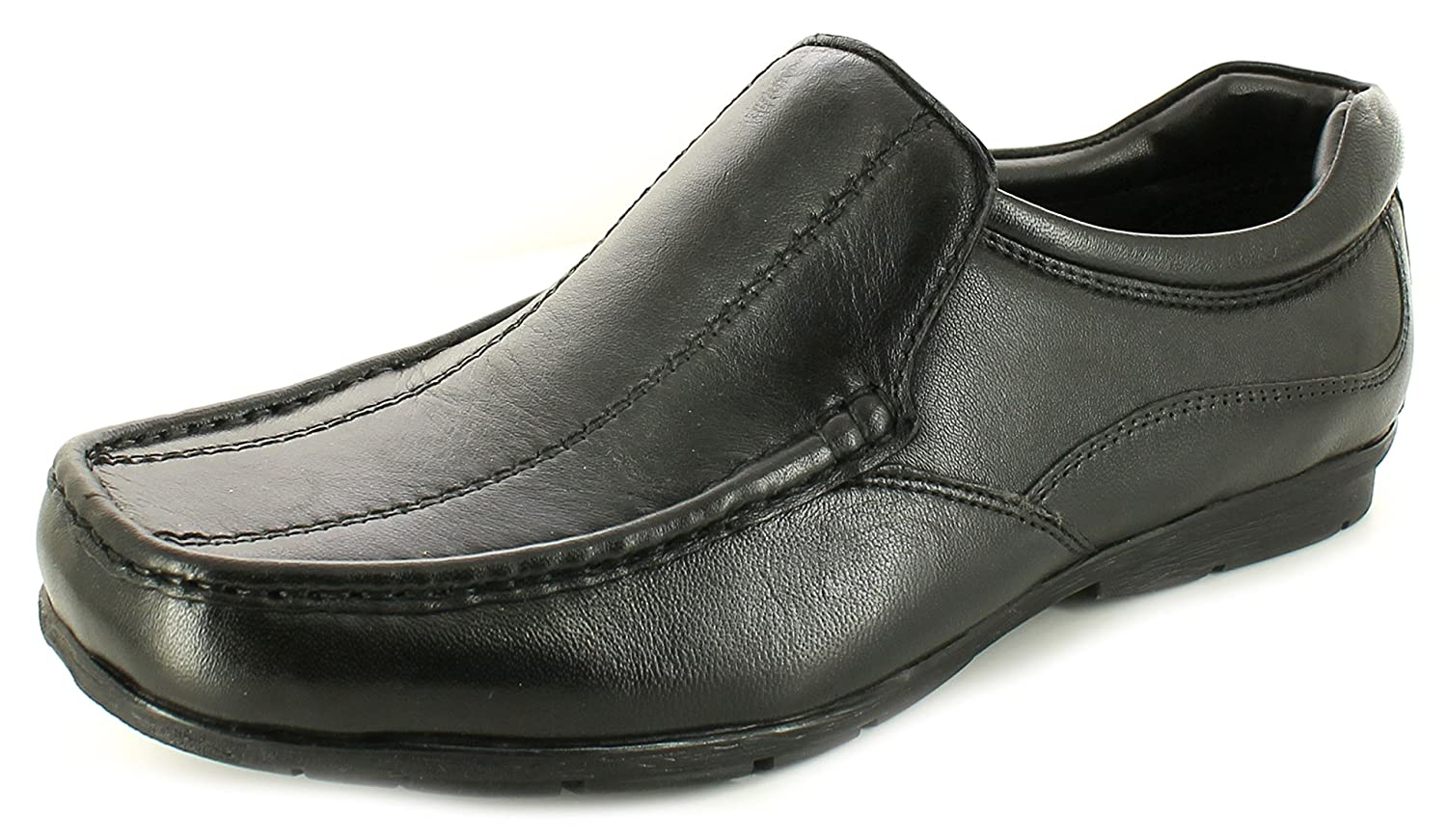 Rockstorm Keaton Mens Other Leather Material Formal Shoes Black