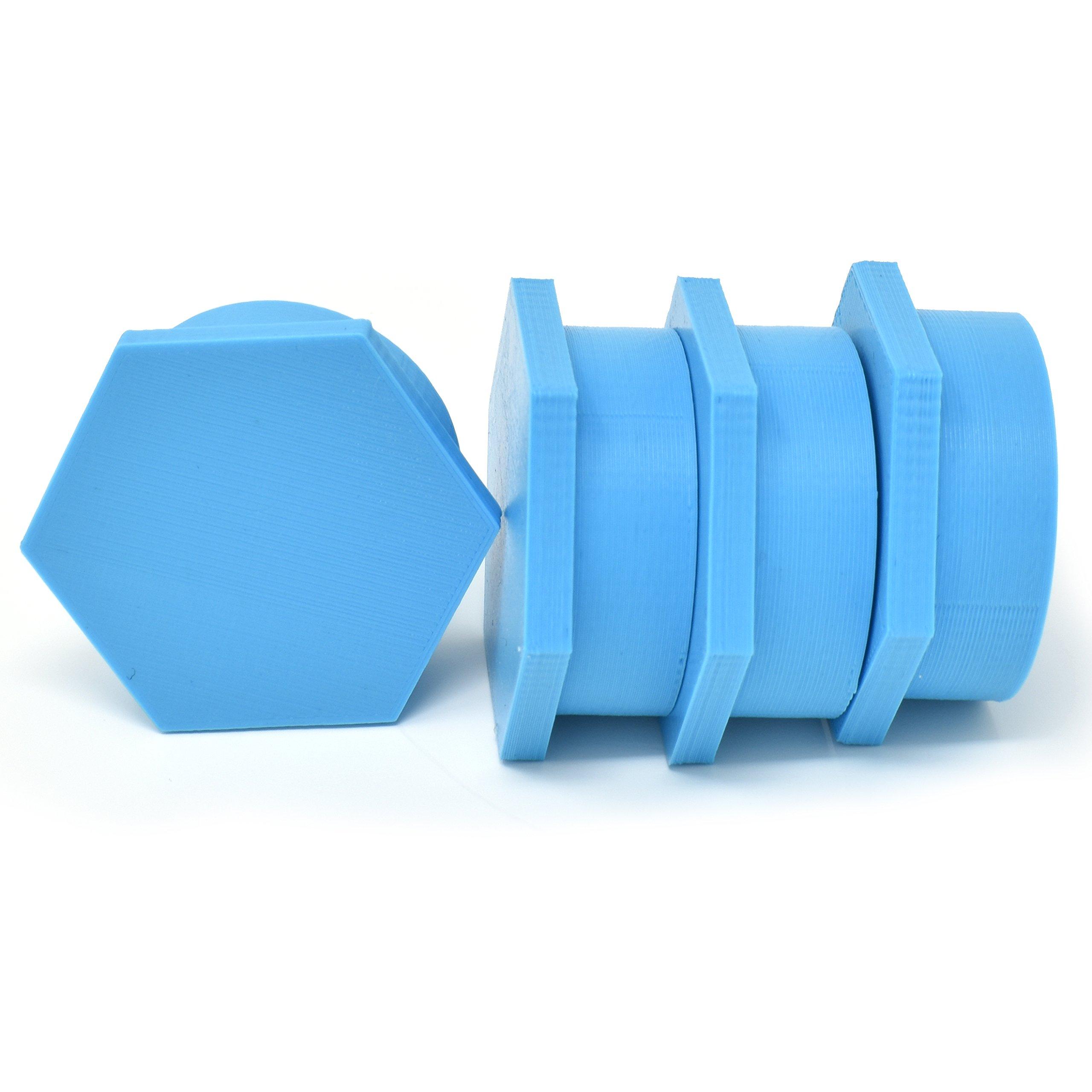 SAMURAI PIPE BOWL COVERS (BLUE)