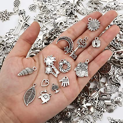 30pcs Tibetan Silver Key Charms Pendants Jewelry Making Findings  28mm 4E0C6F