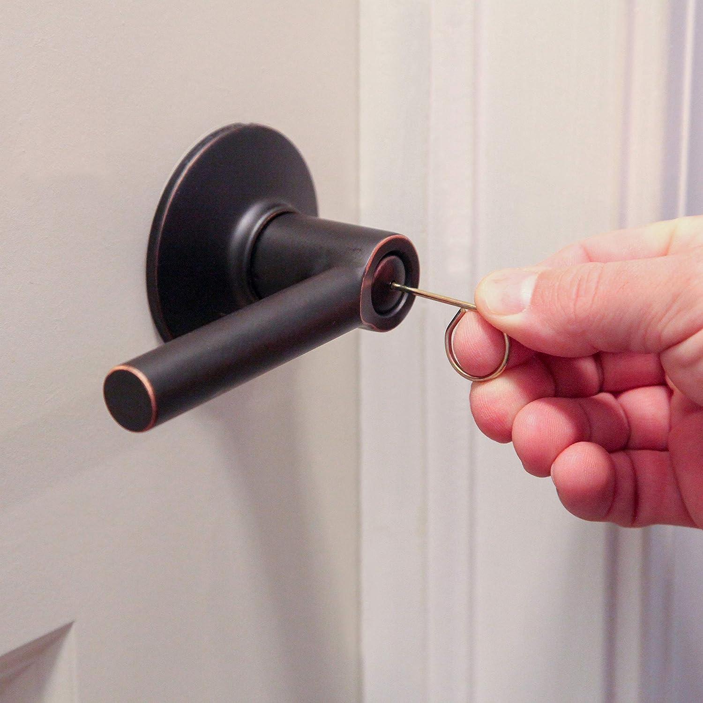 Emergency Keys for Interior Door Locksets Interior Door Key Pin for Inside Doors Schlage Compatible Emergency Door Keys Set of 8