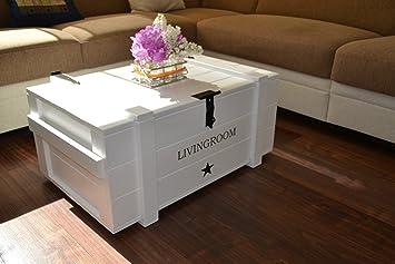 "Woodboox Caja de Madera Mercancías Caja Baúl Mesa Shabby Vintage Rústico""Living Room Ancho"