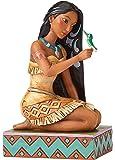 Enesco Disney Traditions by Jim Shore Pocahontas with Bird Stone Resin Figurine