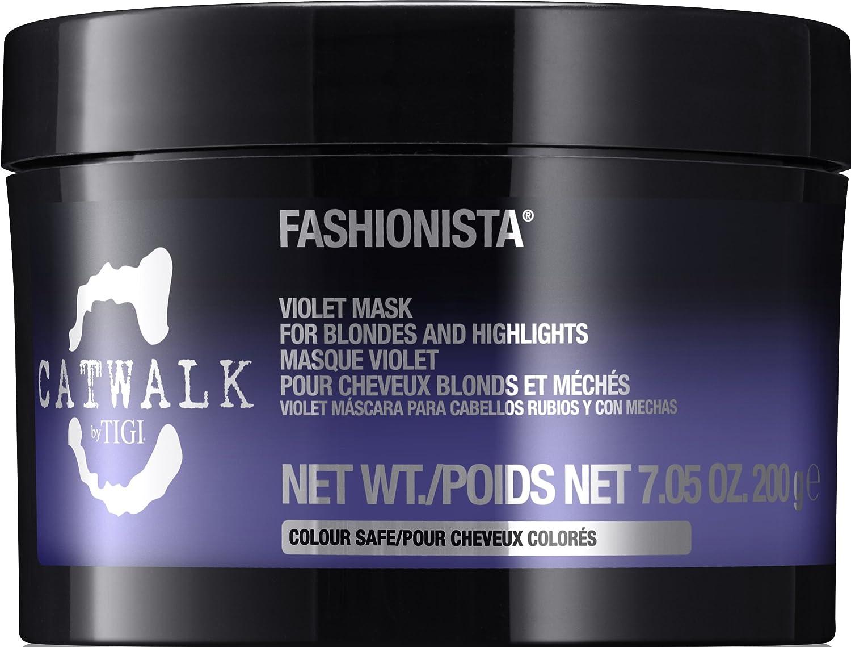 CATWALK Tigi Fashionista Violet Mask for Blondes, Highlights, 7.05-Ounce 9268
