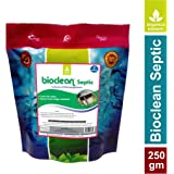 Bioclean (Septic)- Natural SepticTank Cleaner and Odour Eliminator (250 g – Single Pack)