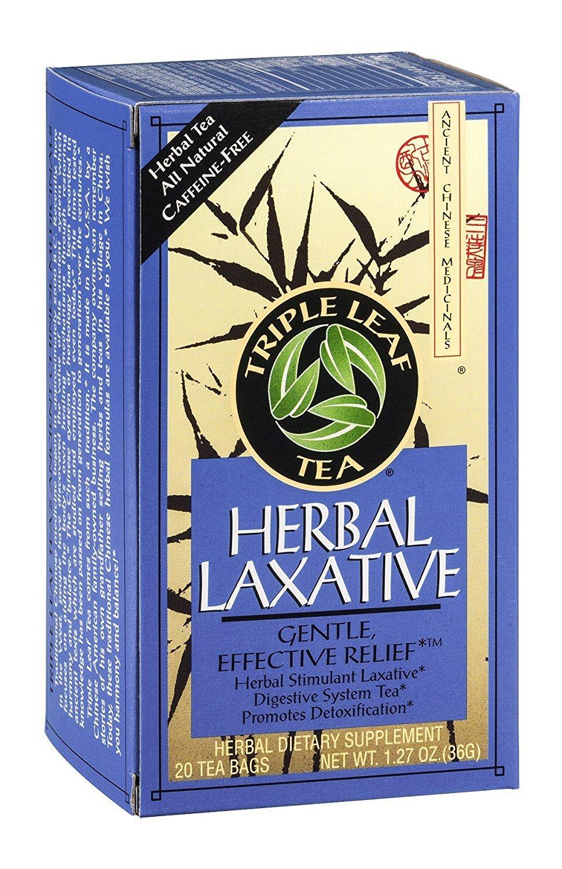 Triple Leaf Tea Herbal Laxative