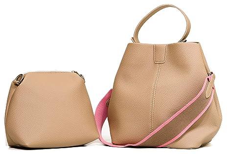 bd8b5baeb8c Amazon.com: WHATSHOP Bucket Bags For Women - Bucket Purse Set with ...