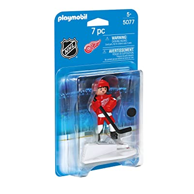 PLAYMOBIL NHL Detroit Red Wings Player: Toys & Games