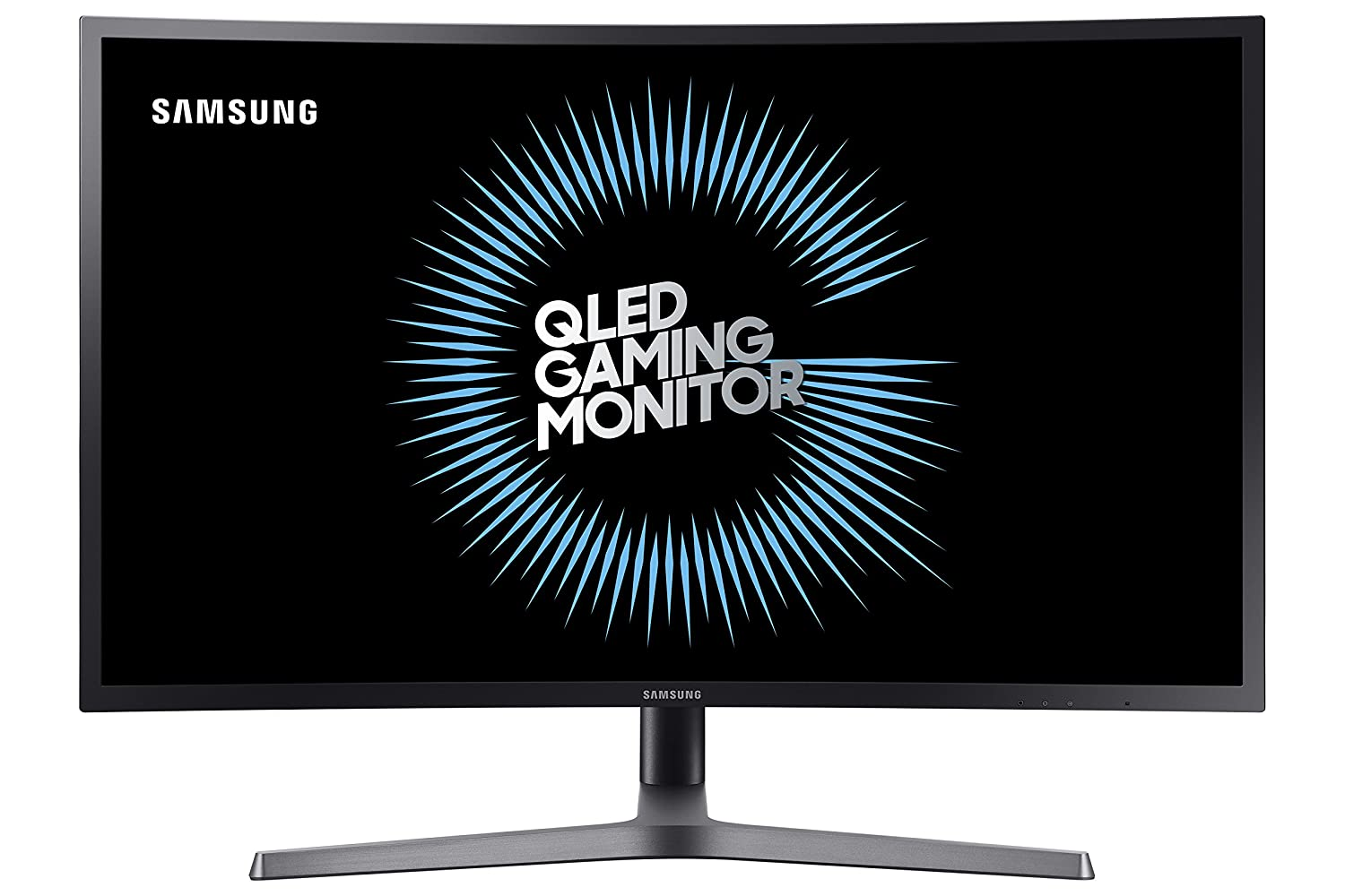 Samsung C27hg70 27 Hdr Qled 144hz 1ms Curved Gaming Monitor With Freesync C27hg70qqn