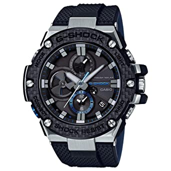 6dcc2ee1f0cf Image Unavailable. Image not available for. Color  Men s Casio G-Shock G-Steel  Black ...