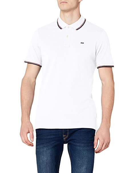 JACK & JONES Jjecontrast Stripe Polo SS Noos Hombre: Amazon.es ...