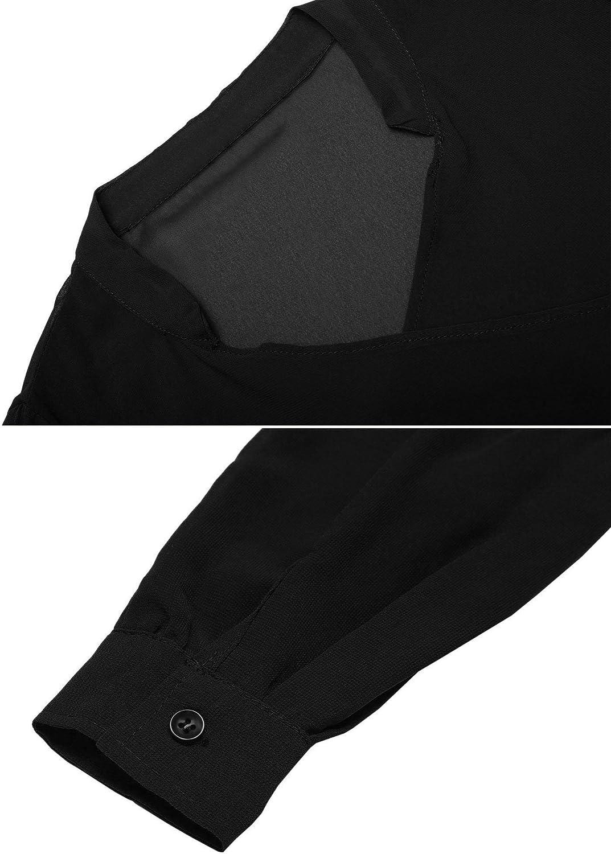 Gfones Womens 3//4 Sleeve Chiffon Beach Cover Ups Open Front Cardigans