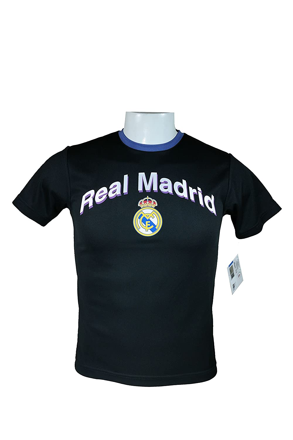 Real Madrid OfficialユースサッカートレーニングパフォーマンスPoly Jersey – y014 B074L2GRSNYouth