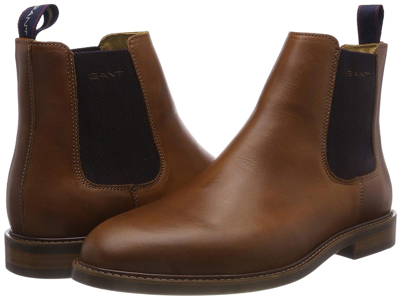 GANT Herren (Cognac Ricardo Chelsea Boots Braun (Cognac Herren G45) 8bee28