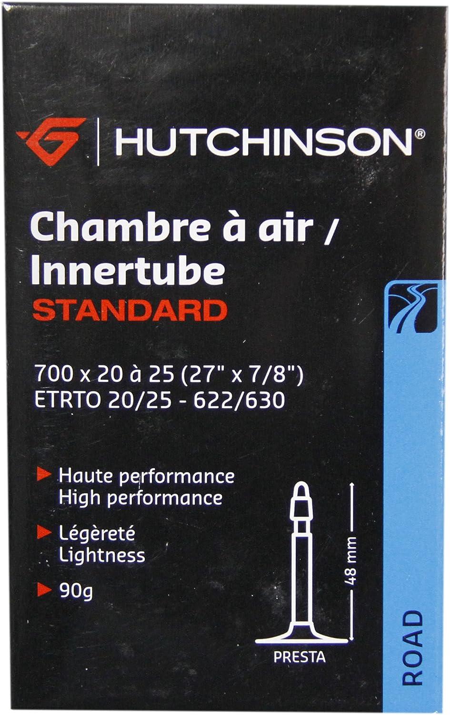 HUTCHINSON CV656621 Cámara de Bicicleta, Unisex, Negro, 700 x 20 a 25: Amazon.es: Deportes y aire libre