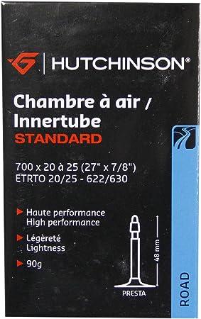 HUTCHINSON CV656621 Cámara de Bicicleta, Unisex, Negro, 700 x 20 a ...
