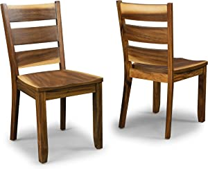 Forest Retreat Pair of Side Chairs by Home Styles