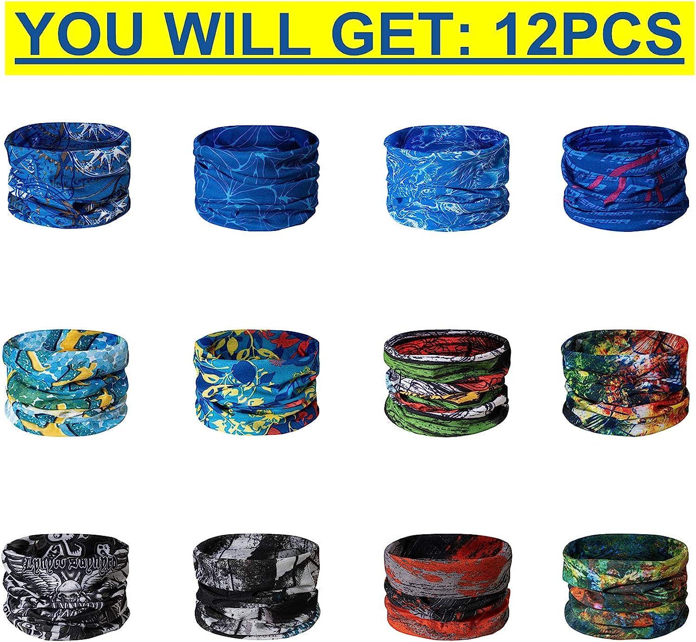 Taiyunwei Outdoor Multifunctional Sports Magic Seamless écharpe 12PCS Magic Head