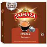 Café Saimaza Espresso Fuerte 20 cápsulas - [Pack de 10]