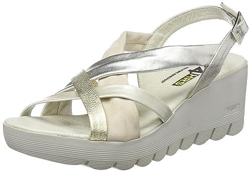d0368fd9 24 HORAS 23627, Sandalias con Plataforma para Mujer, (Beige 1), 39 EU:  Amazon.es: Zapatos y complementos