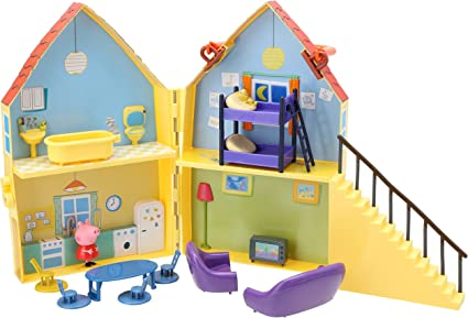 Amazon.es: TM Toys 5138 – Peppa Pig S Playhouse: Juguetes y juegos
