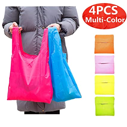 6bf159a0ca9 Image Unavailable. Image not available for. Color  Reusable Shopping Bags  ...