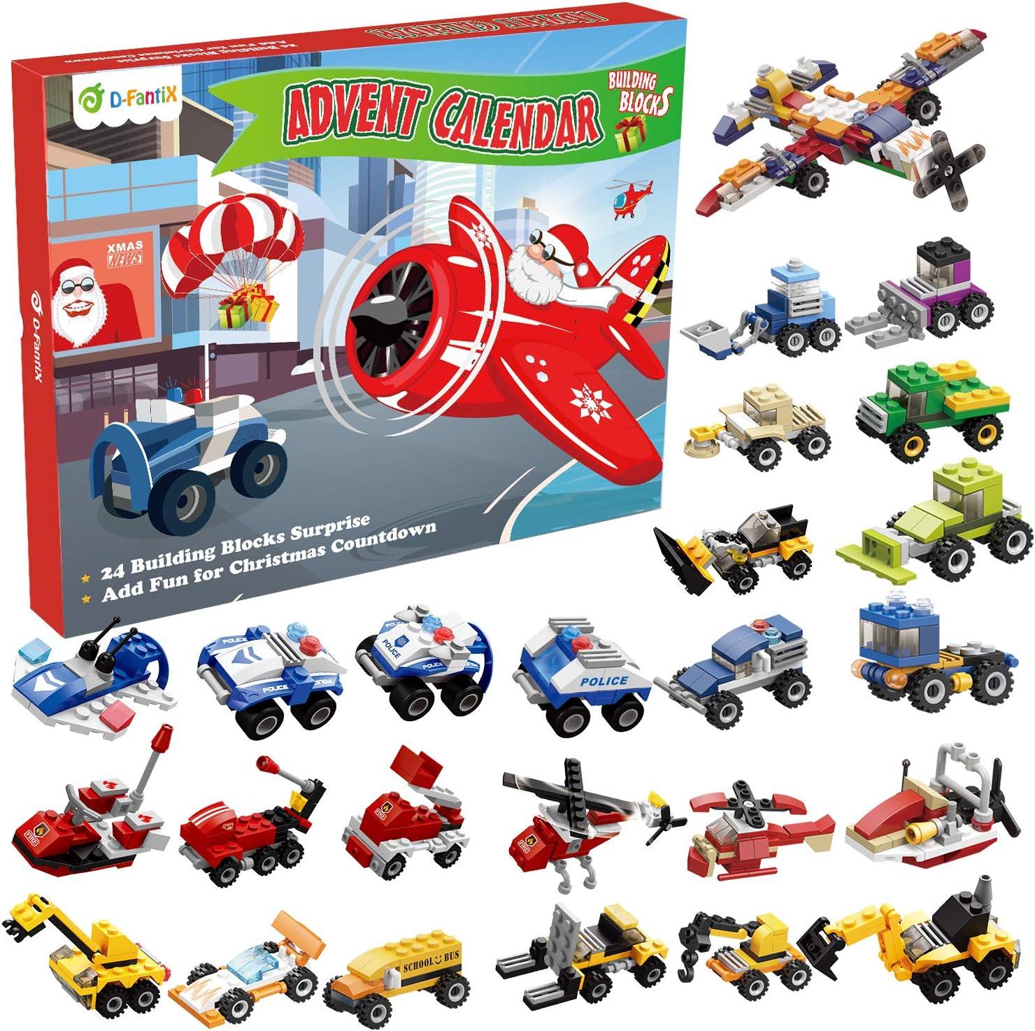 Amazon.com: D FantiX Christmas Advent Calendar 2020, Kids Building