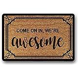 Come In We are Awesome Doormat Funny Door mat