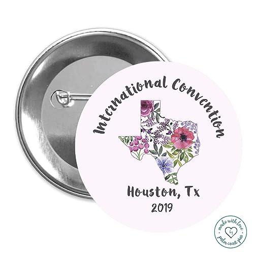 Amazon com: Love Never Fails Pins 50 pack Houston Texas JW