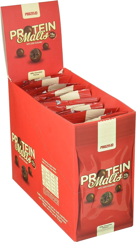 Prozis Protein Malts Chocolate, Maltas de proteína, 10 x 35 ...