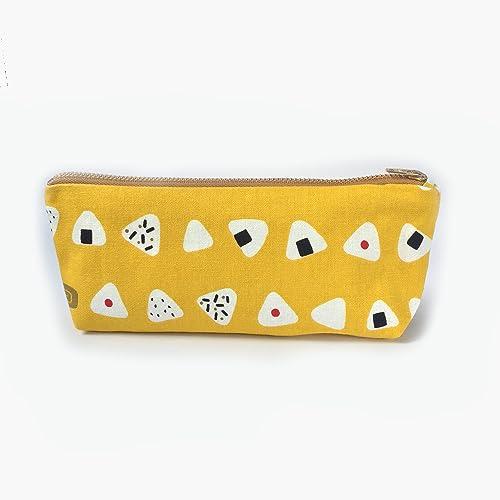 Amazon com: Cute Onigiri Pencil Case Pencil Canvas Zipper