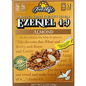 Food For Life Ezekiel 4:9 Organic Sprouted Grain Cereal - Almond - 16 oz
