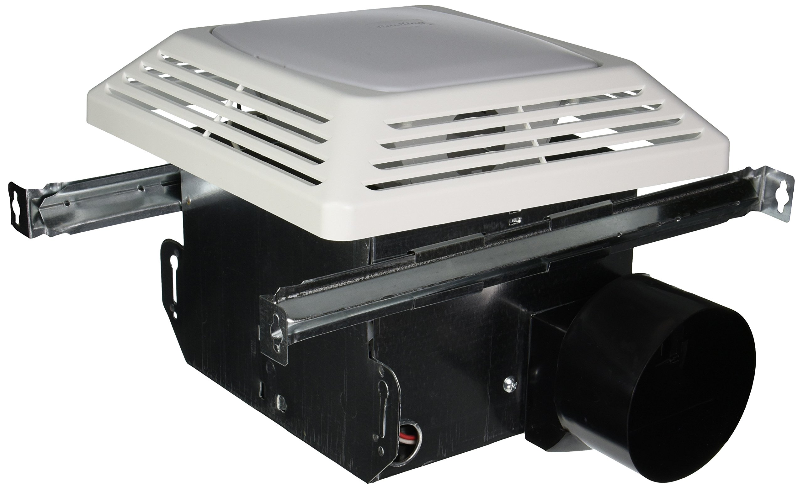 Air King ASLC50 Advantage Exhaust Bath Fan with Light, White Finish