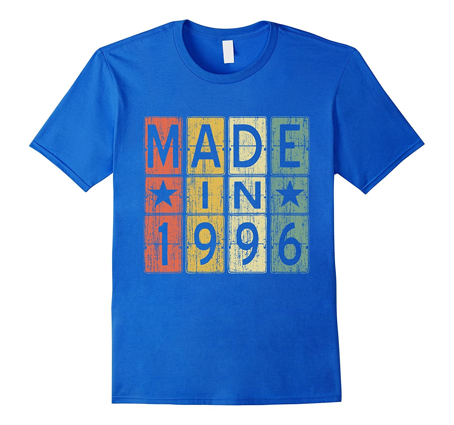 21th Birthday Gift Vintage 1996 T-Shirt Made in Men & Women-4LVS